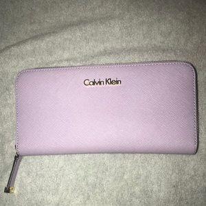 Lavender Calvin Klein Wallet